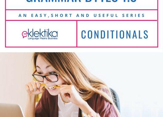 Grammar bytes 1.0 Conditionals!
