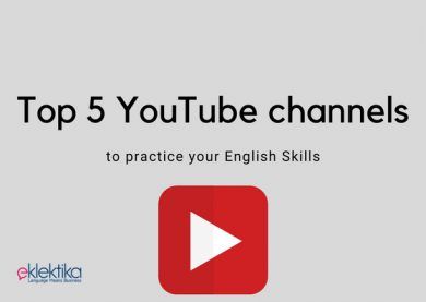Top 5 YouTube channels to practice your English skills!