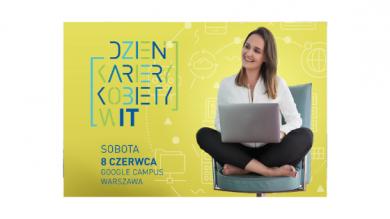 Zgłoś się na Dzień Kariery Kobiety w IT | Campus Google 08/06/2019